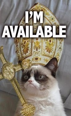 grump cat pope