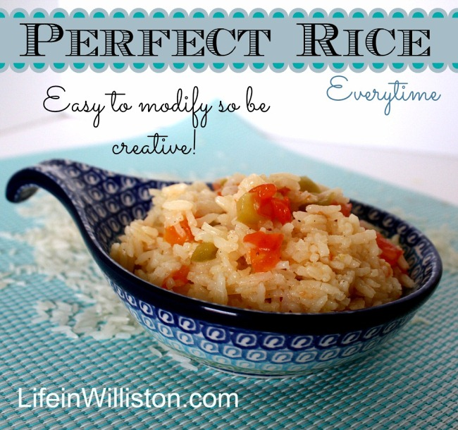 the perfect rice