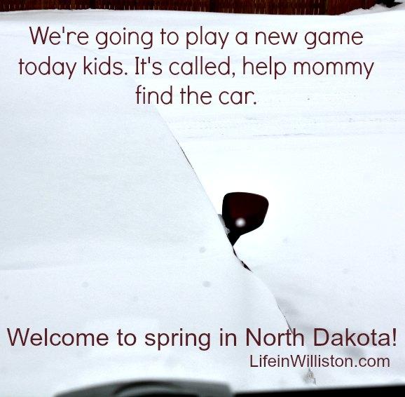 spring in North Dakota