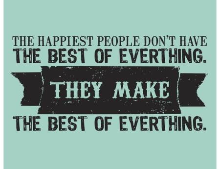 embrace the positive