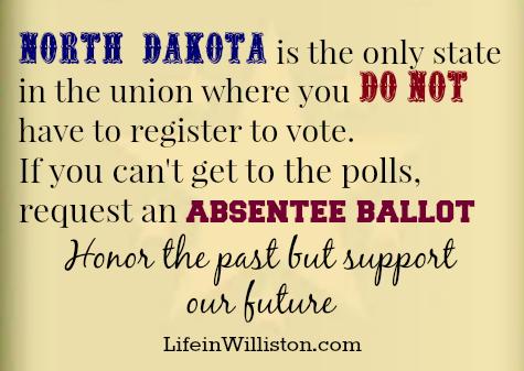 voting in north dakota