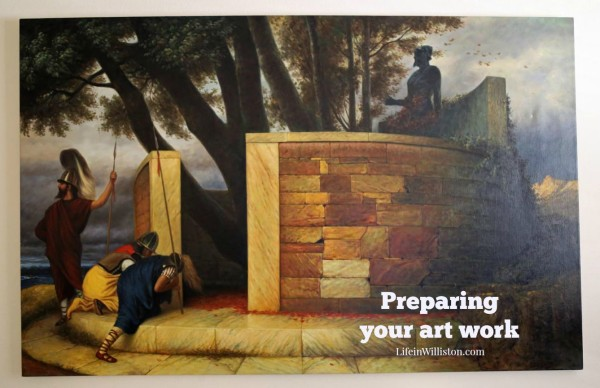 how to prepare artwork when moving