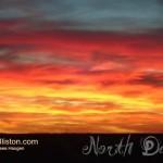 sunset in williston