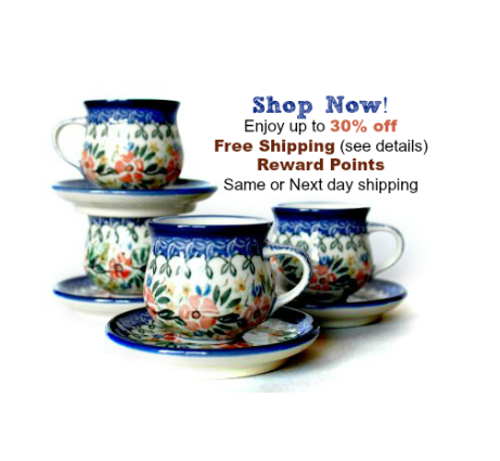 shop for polish pottery